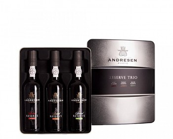 J.H. Andresen Reserve Trio Port 3x375ml